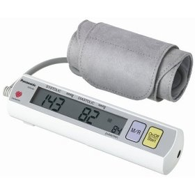 Panasonic ew3109w upper arm blood pressure monitor (white)