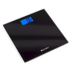 Kintrex precision bath scale with an extra large backlit display,