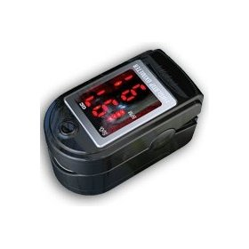 Fingertip pulse oximeter - black