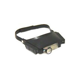 Se mh1041lc led lighted head magnifier