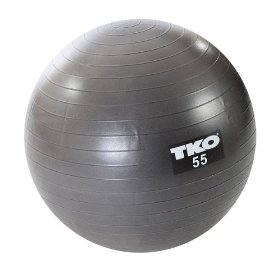 Tko anti burst fitness ball set 55cm