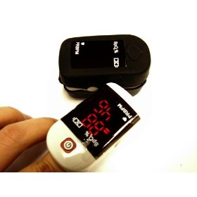 Portable finger pulse oximeter for monitoring blood oxygen saturation- free custom soft skin cover (latest in the market)