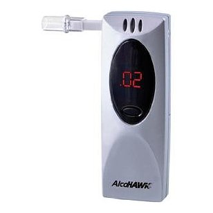 Breath alcohol analyzer alcohawk slim breathalyzers
