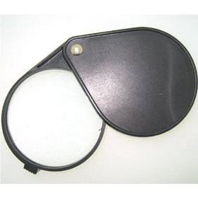 Se folding pocket magnifier, 6x 2.5
