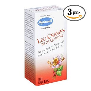 Leg cramp with quinine by hylands - 100 tablets ( multi-pack)