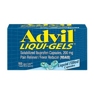 Advil liqui-gel 160 count box