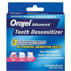Orajel tooth desensitizer 1 kit