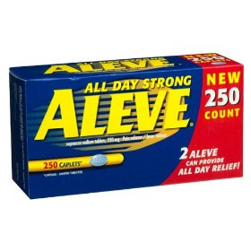 Aleve all day strong pain relief (250 caplets)