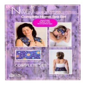 Aromatherapy complete herbal pack set- celestial pattern
