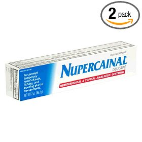 Nupercainal hemorrhoidal and topical analgesic ointment, 2-ounce tubes (pack of 2)