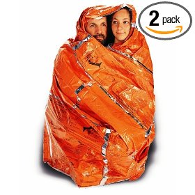 Adventure medical kits heatsheets survival blanket for two person, (pack of 2)