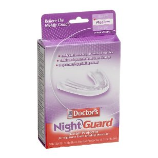 The doctor's nightguard dental protector for night time teeth grinding - 1 ea
