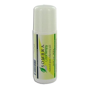 Sombra cool therapy natural relieving gel roll on, 3-ounce