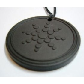 A scalar energy store's scalar energy pendant w/neg ion charge silicone protection ring