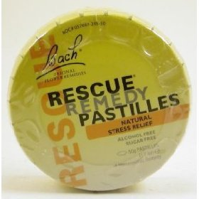 Bach flower essences rescue remedy pastilles
