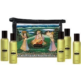 Kama sutra massage oils, set of five