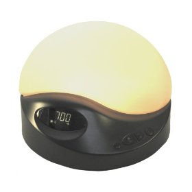 Biobrite sunrise clock advanced model  charcoal