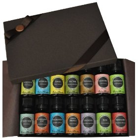 100% pure & natural therapeutic grade essential oil- beginners best of the best set 14/ 10 ml (bergamot, clary sage, cinnamon leaf, eucalyptus, grapefruit, lavender, lemon, lime, patchouli, peppermint, rosemary, spearmint, sweet orange & tea tree)