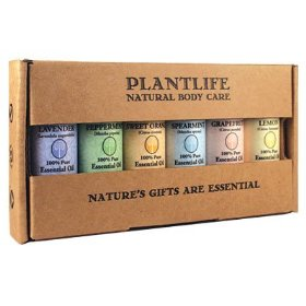 Essential oil home aromatherapy sampler set- 6/10 ml.