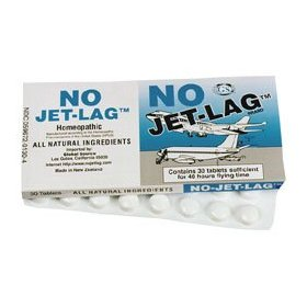 No jet-lag-homeopathic jet lag remedy, 32 tablets