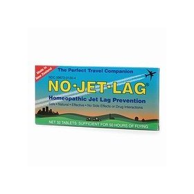 No-jet-lag homeopathic jet lag prevention tablets 32 ea