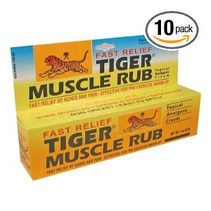 Tiger balm analgesic tiger muscle rub