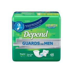 Depends guards for men - 52 count