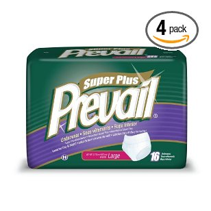 Prevail protective underwear, super absorbency