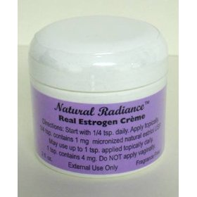 Estrogen/estriol (bioidentical) unscented & paraben-free - creme 2 oz. jar