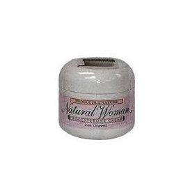 Natural woman progesterone cream, products of nature, treatment for symptoms of menopause, pms and other problems associated with the aging process