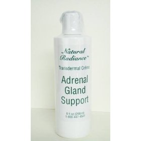 Adrenal gland support 8 oz. bottle - unscented (paraben-free & mineral oil free)