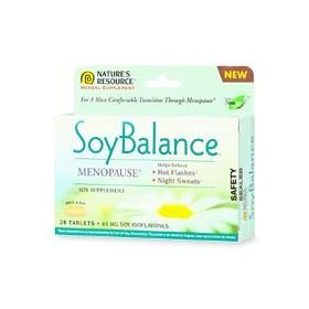 Nature's resource soy balance, menopause soy supplement - 28 ea