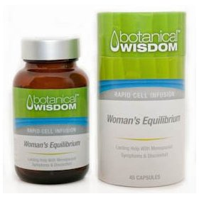 Botanical wisdom - women's equilibrium 45 capsules (lasting help with menopausal symptoms and discomfort)