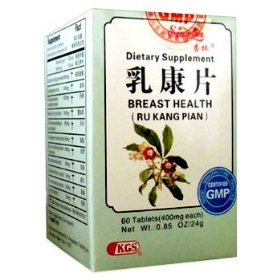 Breast health tablets (ru kang pian) 60 tablets x 3