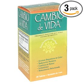 Cambio de vida menopausal supplement, 30 ct (pack of 3)