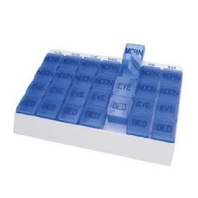 Apex medi tray, 4 times per day, 7 days per week