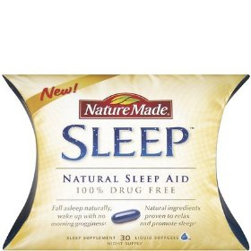 Nature made liquid softgel sleep natural sleep aid, 30-count