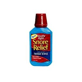Breathe right snore relief throat rinse, cool mint 10 fl oz