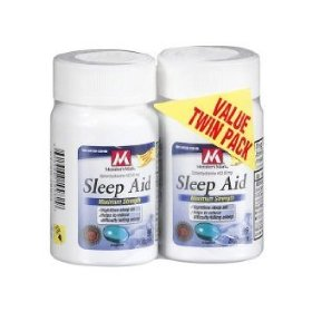 Member's mark maximum strength sleep aid - 2/96 softgels - total 192