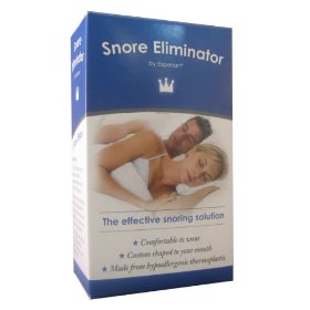 Experian stop snoring mouth piece - anti snore device solution aid cure - oral appliance aid 30 day money back guarantee