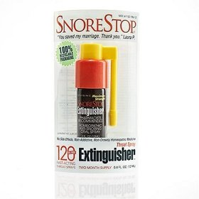 Snorestop extinguisher, 0.4-ounce boxes