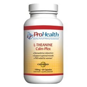 L-theanine calm-plex with gaba and 5-htp (suntheanine®) (100 mg, 60 medium capsules)