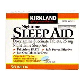 Kirkland signature nighttime sleep aid - 96 tablets