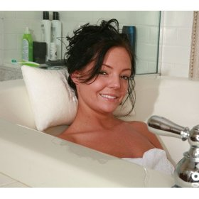 Bath tub pillow - comfy bath pillow, hot tub pillows, great spa pillows, bathtub pillow