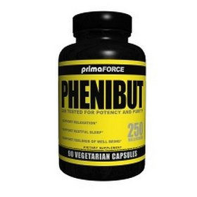 Primaforce phenibut capsules, 90-count bottle