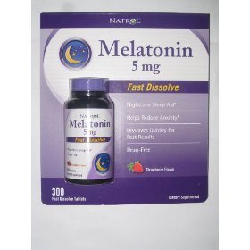 Natrol melatonin 5 mg - 300 tablets
