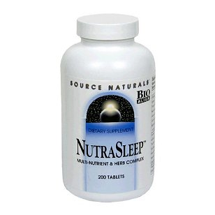 Source naturals - nutrasleep, 200 tablets