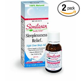 Similasan sleeplessness relief globules, night time sleep aid, 154 doses (pack of 2)