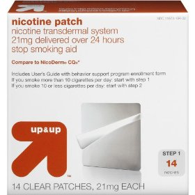 Nicotine step 1 patch 14-pk. - original (21 mg)