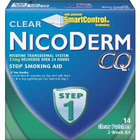 Nicoderm cq step 1 clear patch 14-pk.